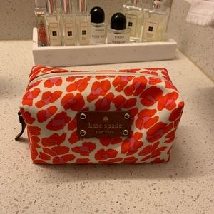 NWOT Kate Spade Into The Wild Leopard Cosmetic Bag